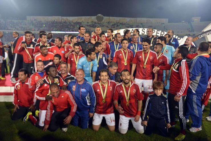 2014 Ahly gagne la coupe de la CAF