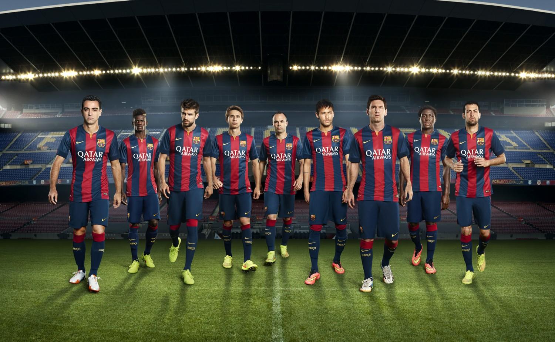 FC Barcelone Barça 2015