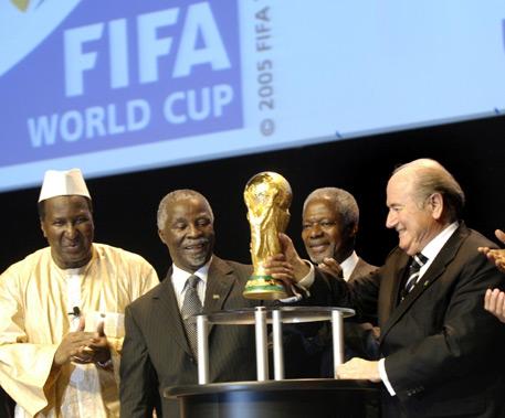 En 2010, l'Afrique du Sud passe devant le Maroc
