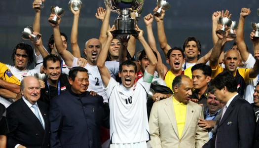 2007 : l'Irak remporte la Coupe d'Asie des Nations à Djakarta