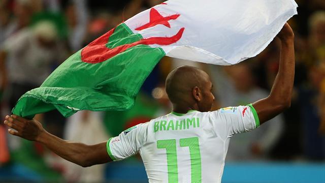 Brahimi et l'Algérie, favoris ?
