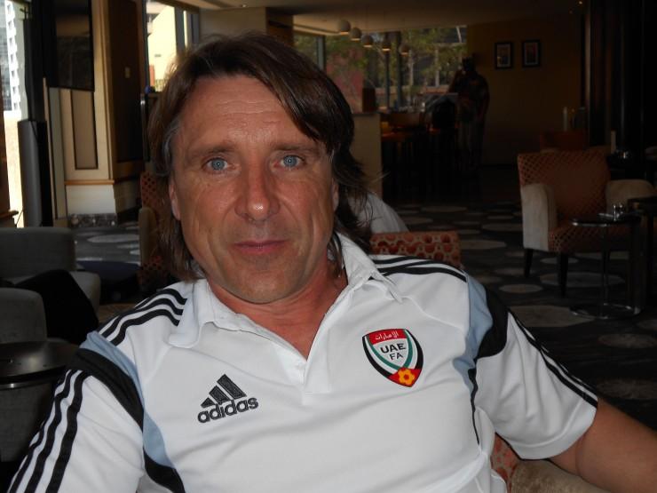 Patrice Coutard, fitness coach des Emirats, en poste depuis 15 ans   @2022mag.com