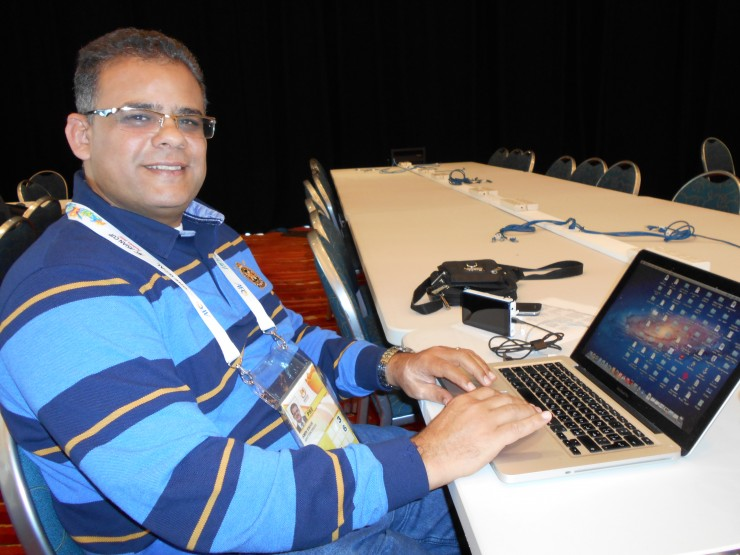 Amin Aldobally, journaliste émirati à Al-Ittihad   @ 2022mag.com