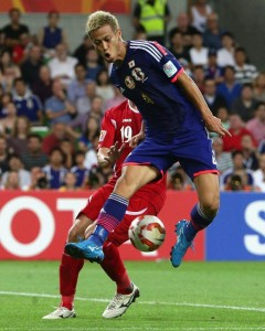 Keisuke Honda, leader offensif d'un Japon sans complexe @ AFC media channel