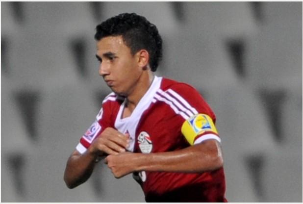 """Mahmoud Hassan """"Trezeguet"""" talentueux joueur du Ahly et des U23 égyptiens."""