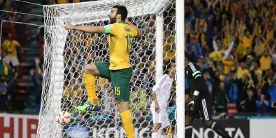 Mile Jedinak peut jubiler : le capitaine australien est en finale de l'Asian Cup après sa victoire sur les Emirats.   @AFC media channel