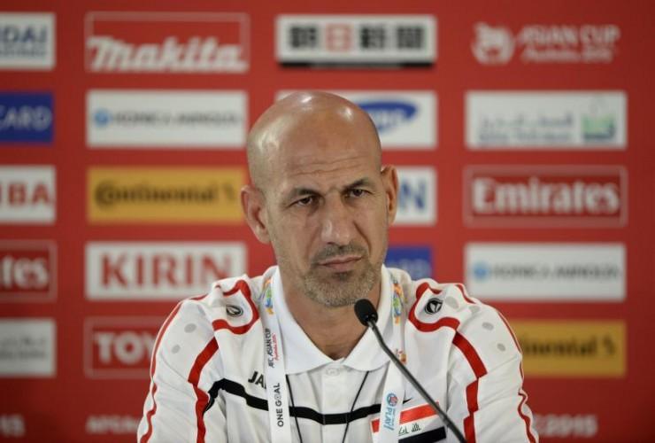 Radhi Shenaishil, le coach iraqien   @AFC media channel