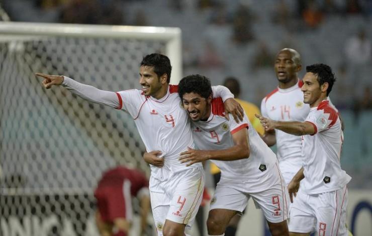 Shubbar, heureux buteur de Bahrain   @AFC media channel