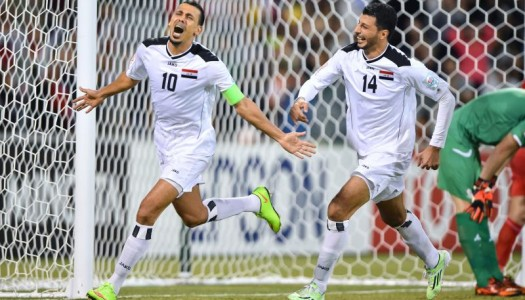 J 12 : l'Irak bat la Palestine et se qualifie (2-0)