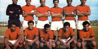 1970: La grande équipe du Maroc dirigéé par le capitaine Driss Bamous