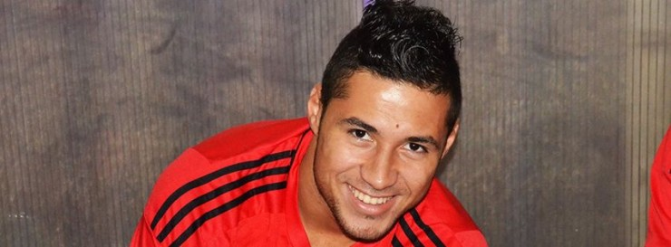 Youcef Belaili, buteur pour la troisième fois en trois matches   face à Sétif