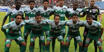 L'équipe du Raja Casablanca lors du Mondial des Clubs en décembre 2013.