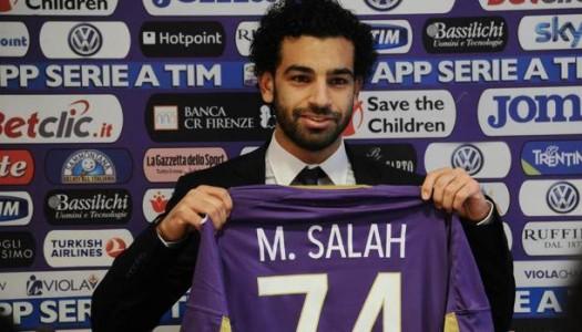Fiorentina : premier but pour Mohamed Salah