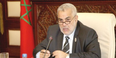 Abdellah Benkirane chef du gouvernement marocain