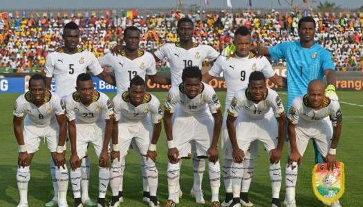 Le Ghana, qualifié facile en demie
