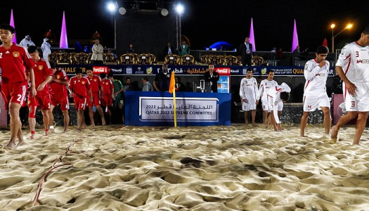 Mondial  Beach Soccer 2015 : qualifications asiatiques à Doha