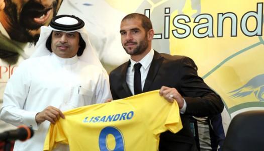 Qatar: Al Gharafa perd Lisandro Lopez