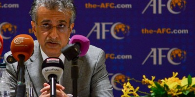 Sheikh Salman bin Ibrahim Al-Khlalifa, (président AFC) battu au second tour