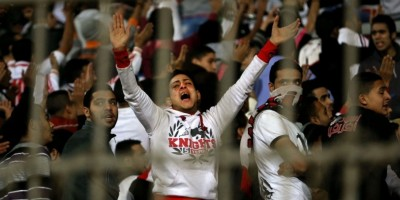 ENPPI Zamalek Afrrontements Supporters