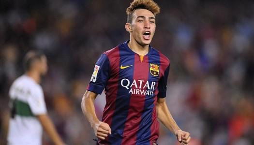 FC Barcelone: Munir El Haddadi très convoité