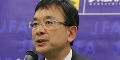 Mitsuru Murai, président de la Japon League)
