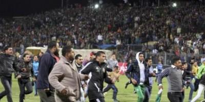 Emeutes de Port Said en février 2012 qui ont fait 72 morts parmi les fans d'Al-Ahly