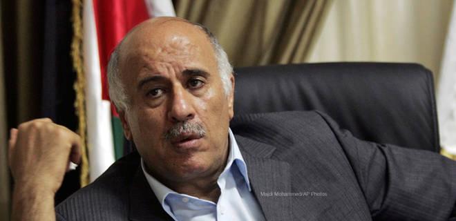 Jibril Rajoub, président de la fédération Palestinienne