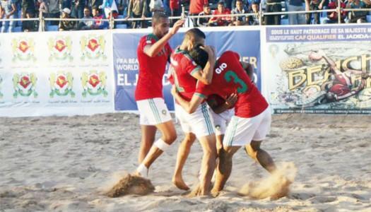 Beach Soccer-CAN 2015:   le Maroc qualifié
