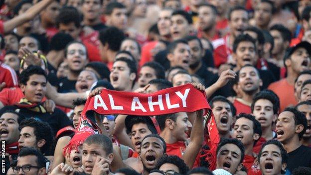 Al Ahly devra se passer de ses supporters pour recevoir Tétouan