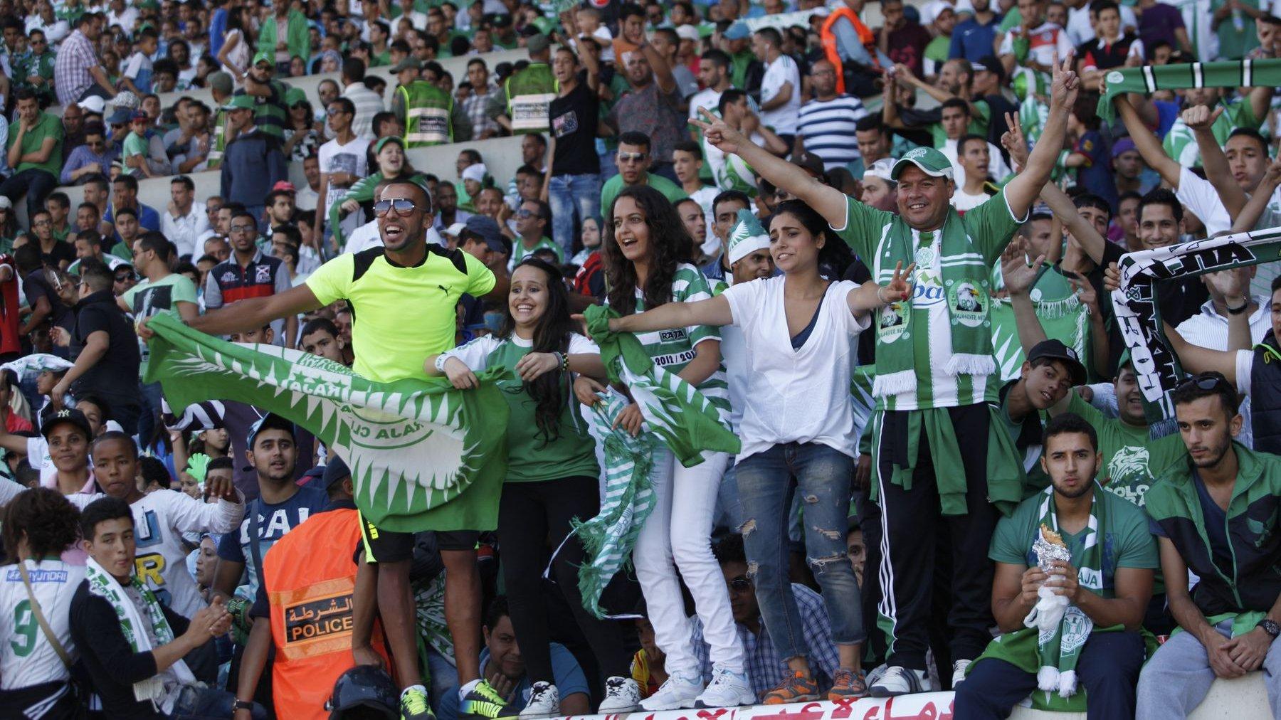 Le Raja compte sur  ses fans  nombreux et passionnés