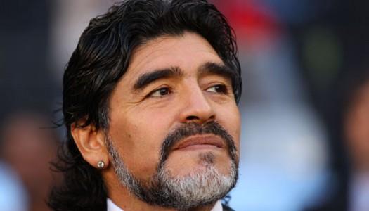 Jordanie :  Diego Maradona  en Guest Star du Soccerex forum