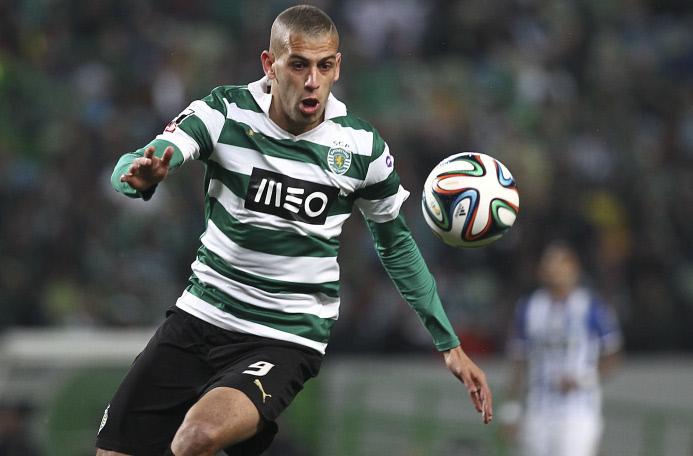 Islam Slimani  (Sporting de Lisbonne)