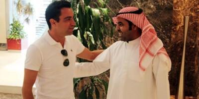 Xavi  signe à  Al-Sadd
