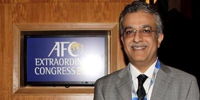 Cheikh Salman ( Président AFC)