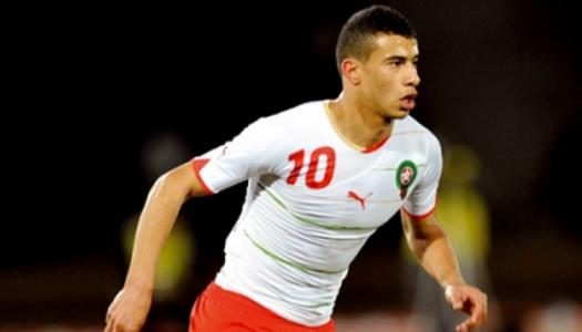 Maroc: Belhanda se réjouit d'affronter Ronaldo et Cie