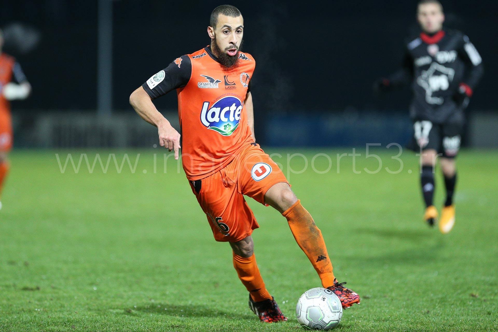 Fouedf Chafik   Photo : Stade Lavallois