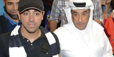 Xavi ; après les passes décisives, les buts avec Al Sadd