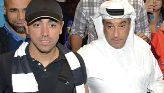 Al-Sadd:  accueil royal pour Xavi