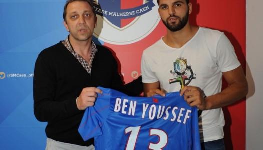 Caen : Syam Ben Youssef a signé