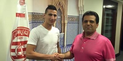 , Slim Riahi avec Yoann Touzghar