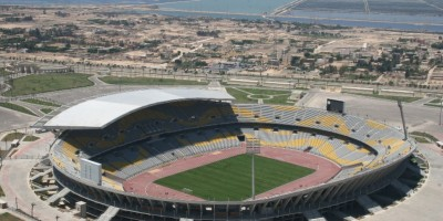 Borg El Arab Stadium,  accueillera la Super Coupe d'Egypte