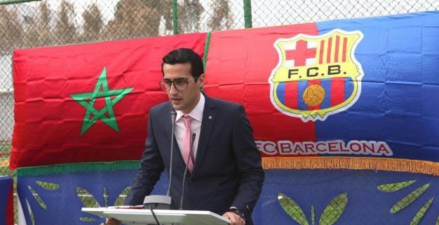 Gabriel-Hicham Guedira, directeur de la FC Barcelone Escola  Maroc