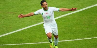 Abdelmoumène Djabou avec l'Algérie A'