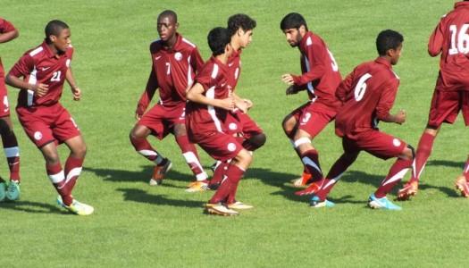 Qatar : les U16 au tournoi de  Mexico