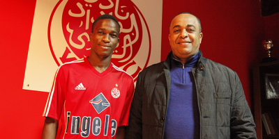 Souleymane Diarra, le jour de sa présentation par la WAC