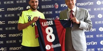 Présentation de Saphir Taïder à Bologne