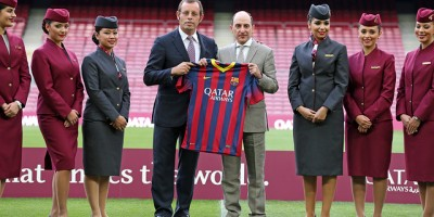 Qatar Airways:  Un contrat en or pour le FC Barcelone ?