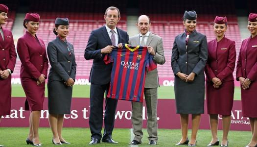 Barça:  quatre  ans de plus  avec Qatar Airways?
