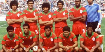 Dolmy et le  Maroc quatrièmes de la CAN 1988