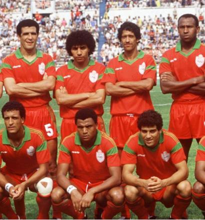 C'est pratiquement avec l'équipe qui avait brillé au Mondial 1986 que le Maroc ne gagne pas la CAN 1988